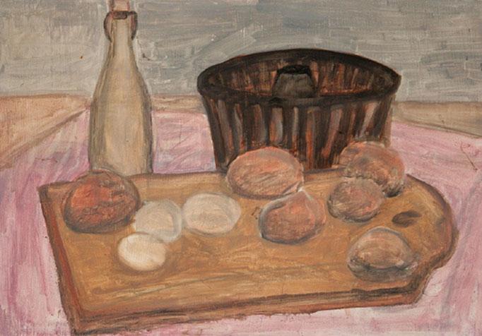 1987 Küchenbrett 37x50 Öl  uvk