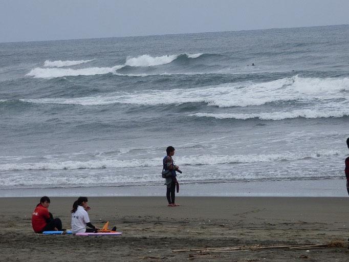 こんな波でした