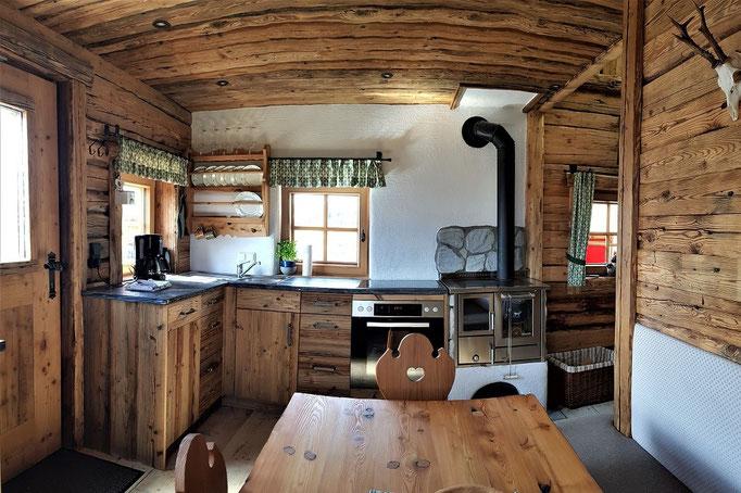 Gstatter Hochalpe - Küche