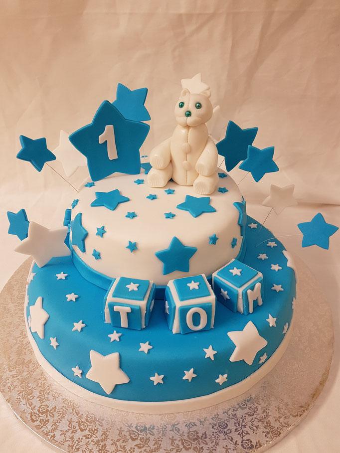 Birthday Cake ourson