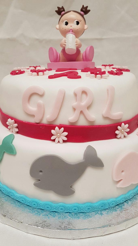 Event Cake réalisé pour une baby shower