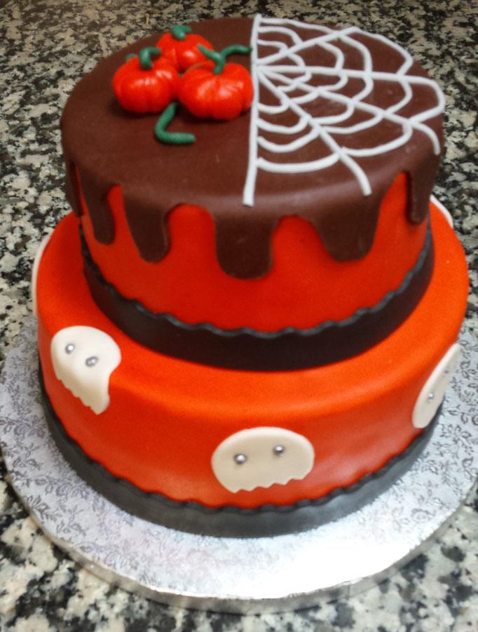 Event Cake réalisé pour un goûter d'halloween