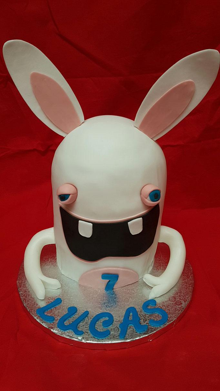 Birthday Cake lapin crétin