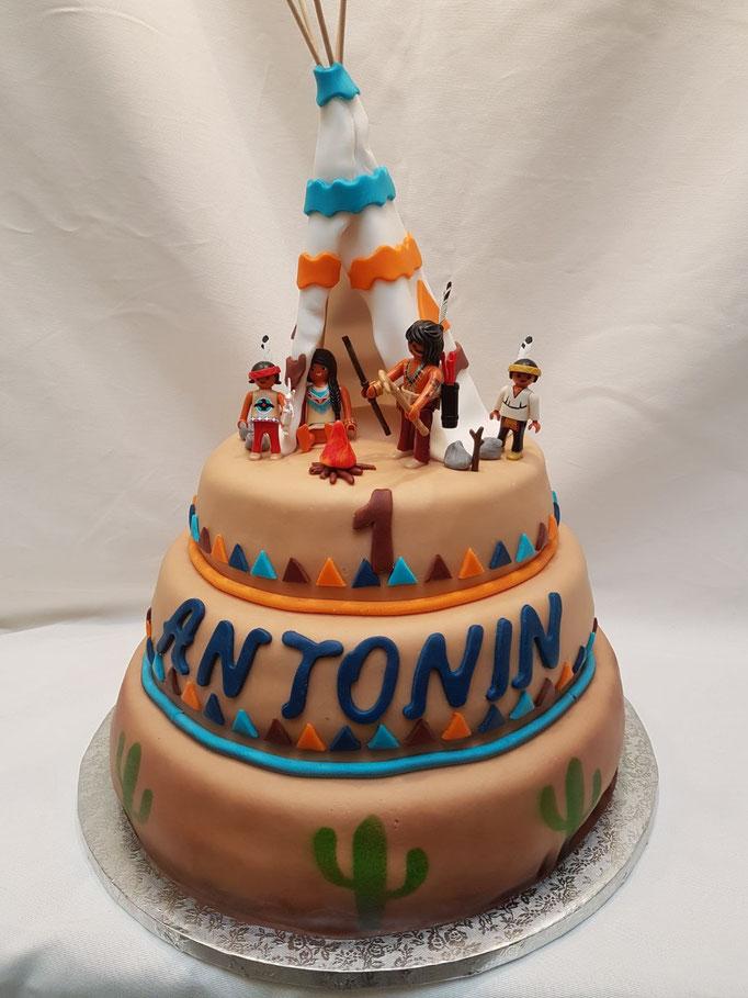 Birthday Cake indien