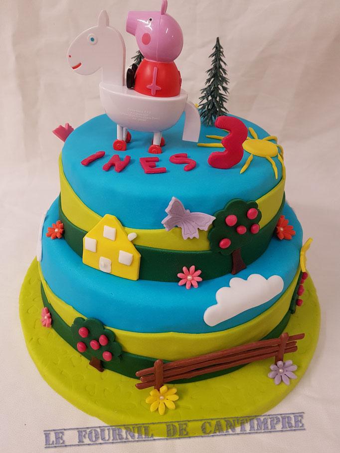 Birthday Cake Peppa pig