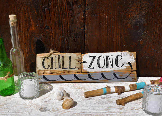 Nr.7  Chillout Zone    ca. 38cm/11cm  Fr. 36.-