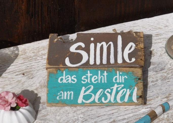 Smile Nr. 1 ca 18cm/16cm  Fr. 29.-