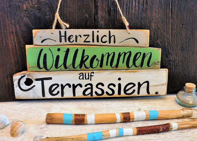 Terrassien Nr. 1  ca. 45cm/20cm   Fr. 48.-