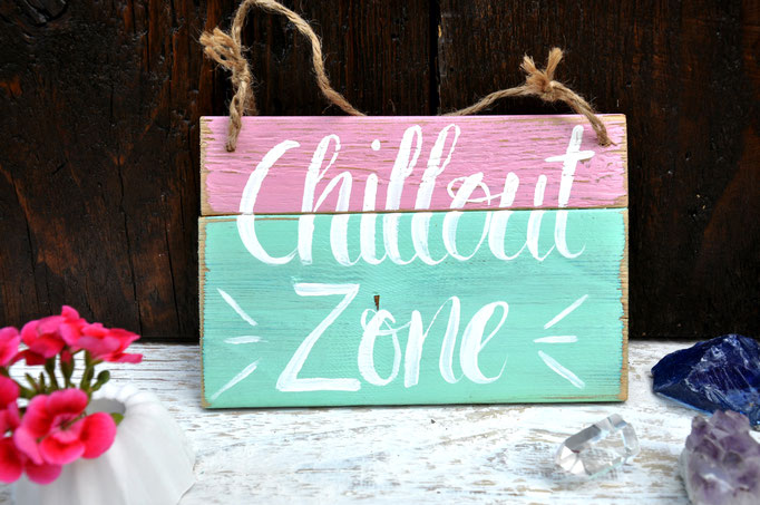 Nr. 1 Chillout Zone ca. 15cm/12cm  Fr. 26.-
