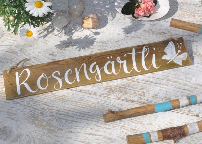 Rosengärtli ca. natur Nr.1  40cm/6cm  Fr. 18.-