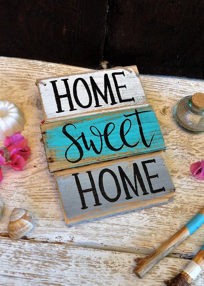 home sweet home  Nr. 1   ca. 19cm/24cm  Fr. 36.-