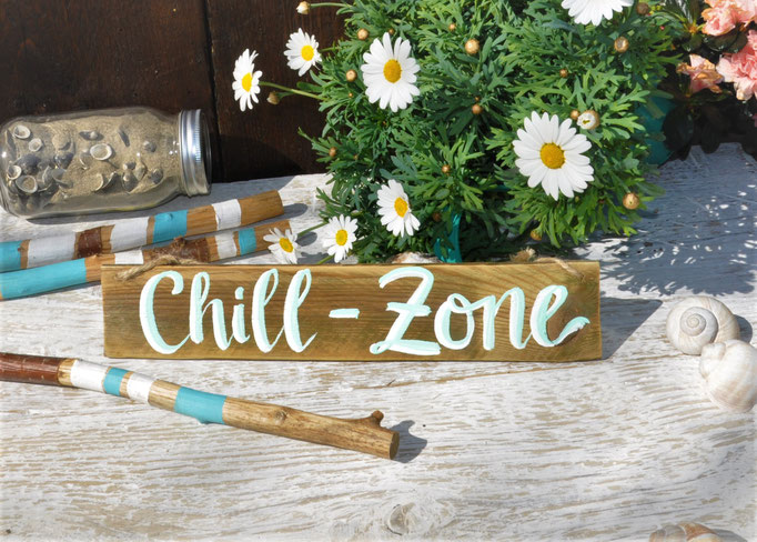 Chill Zone  natur Nr.1  ca. 20cm/6cm  Fr. 15.-