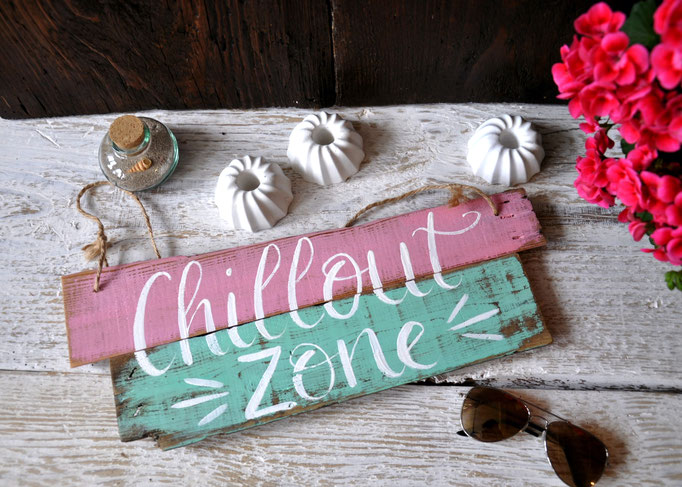 Nr. 2  Chillout Zone ca. 38cm/16cm Fr.  39.-