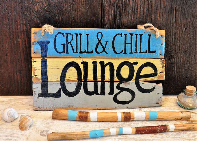 Nr. 1  Grill & Chill Lounge    ca. 38cm/23cm  Fr. 52.-