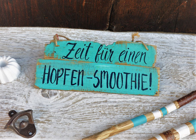 Hopfensmoothie Nr. 2   ca. 28cm/12cm  Fr. 26.-