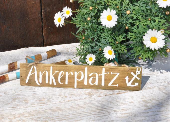 Ankerplatz natur Nr.1   ca. 33cm/6cm  Fr. 15.-