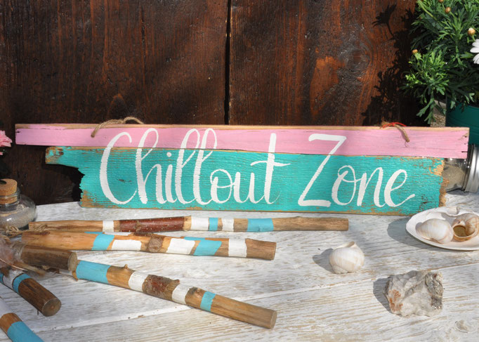 Nr.3  Chillout Zone    ca. 41cm/14cm  Fr. 39.-