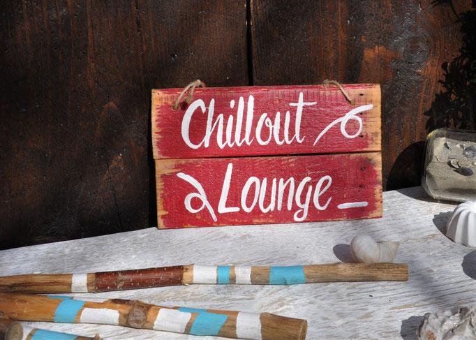 Nr. 1   Chillout Lounge     ca. 23cm/16cm  Fr. 32.-
