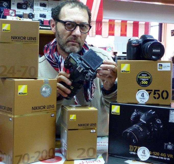 Nikon D810 D750 D500