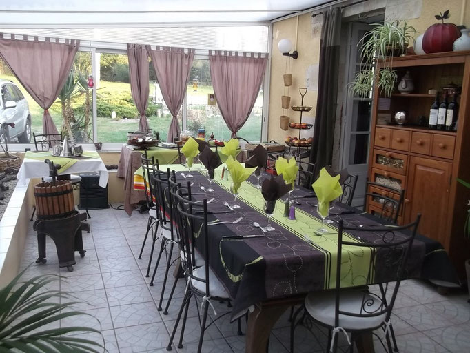 Table d'hôtes les pres verts