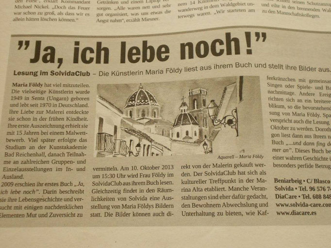Zeitung - Costa Blanca Nachrichten
