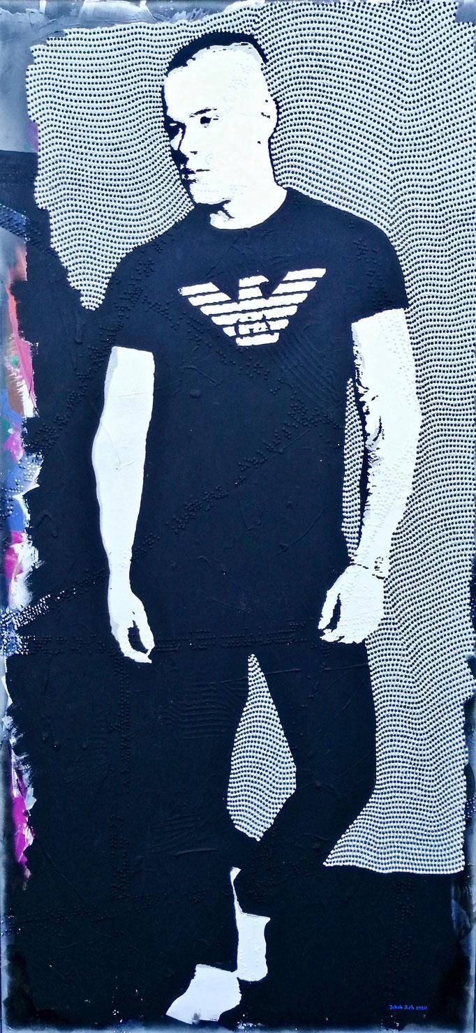 Paul Elvers (2020) - 100 x 200 cm - Acryl auf Leinwand