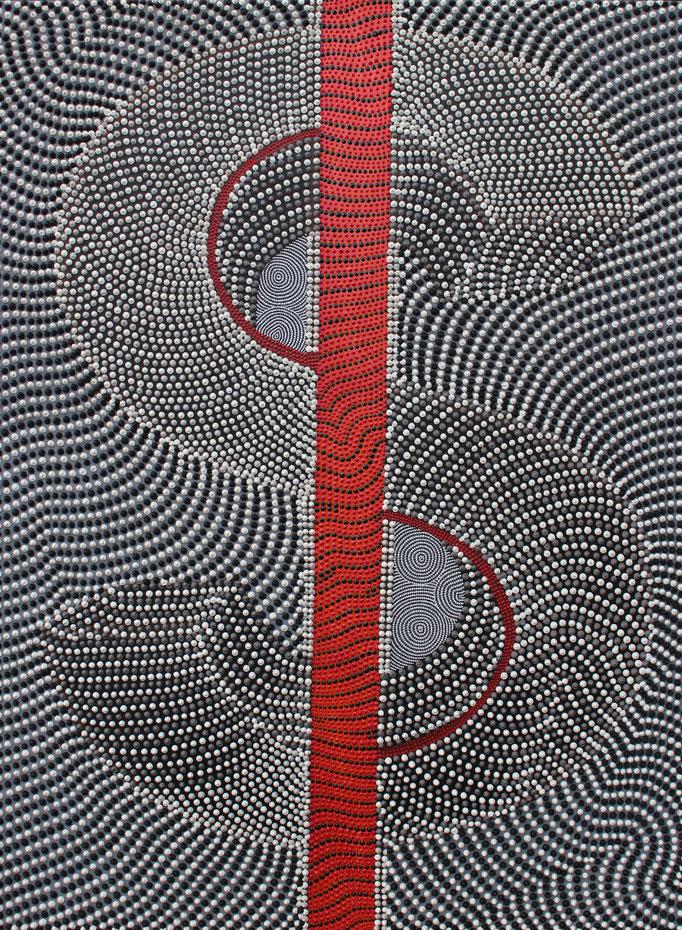 Dollarium - Nervus rerum (2016) - 96 x 71,5 cm - Acryl auf Leinwand