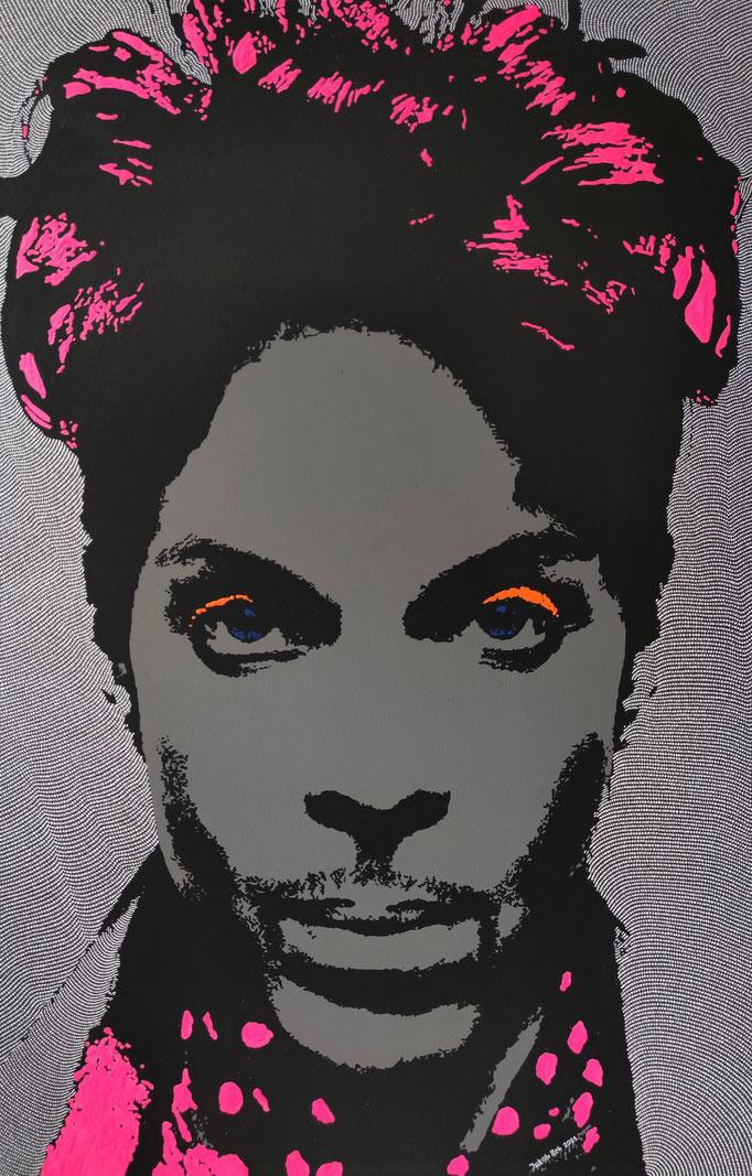 Prince (2021) - 117 x 77 cm - Acryl auf Leinwand