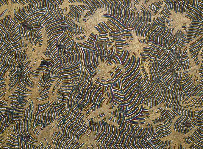 rêves d´un artiste (2009/2010) 96 x 71,5 cm - Acryl auf Leinwand