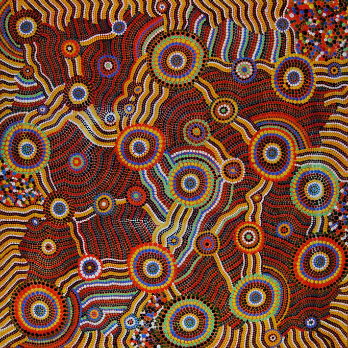 Impressiones (2010) 75 x 75 cm - Acryl auf Leinwand