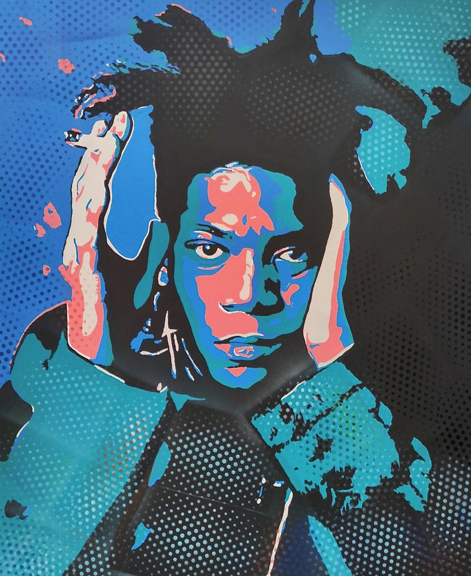 Jean-Michel Basquiat (2021) - 110 x 90 cm - Acryl auf Leinwand