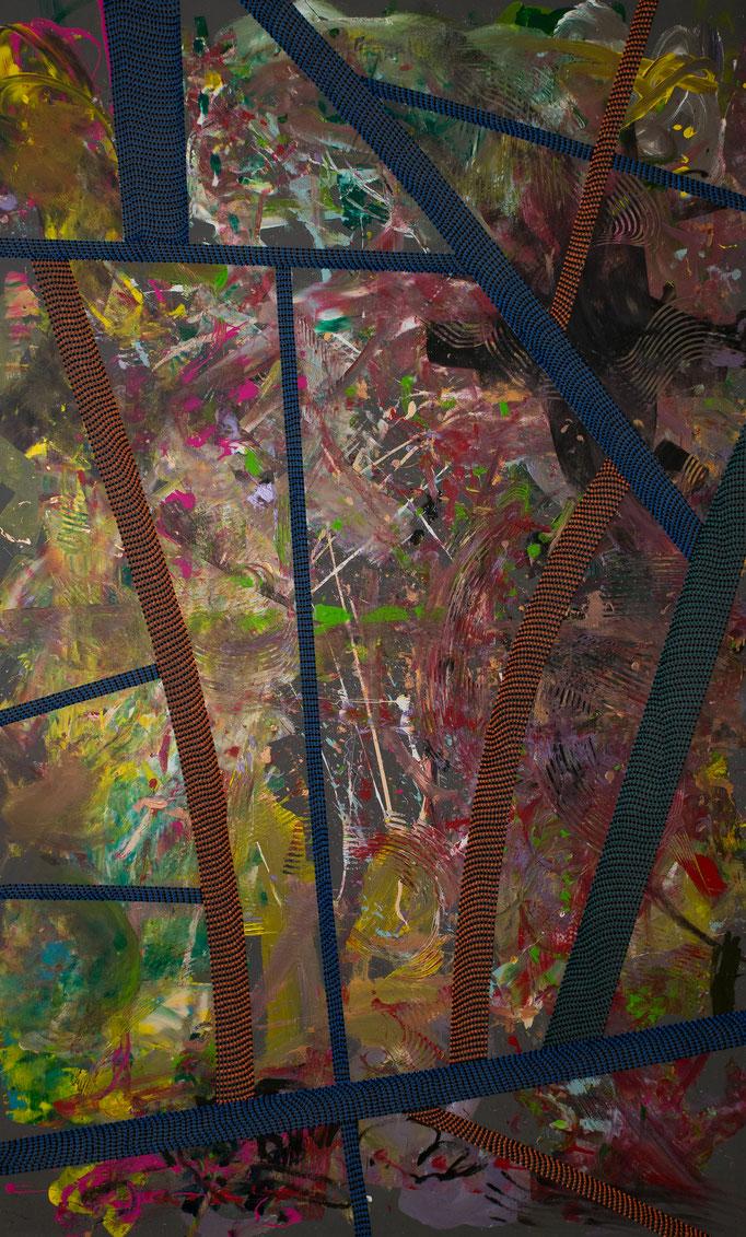 New York, New York (2018) - 145 x 240 cm - Acryl auf Leinwand