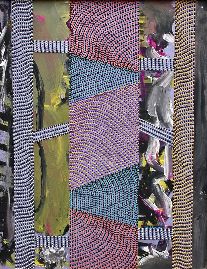 The mysterious box (2018) - 95,5 x 70 cm - Acryl auf Leinwand