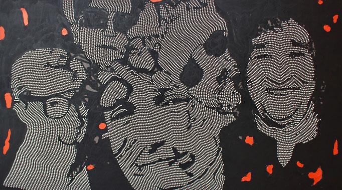 Goodbye My Loveds (2019) - 160 x 90 cm - Acryl auf Leinwand