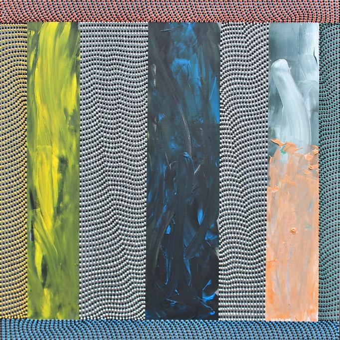 Rub al-Khali (2018) - 95,5 x 90 cm - Acryl auf Leinwand