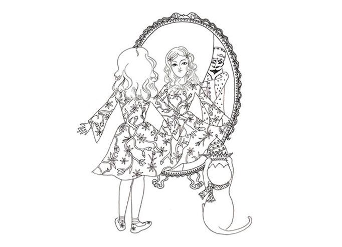 Victoria tries on a beautiful dress and Zani a gem studded hat. Malaki looks on
