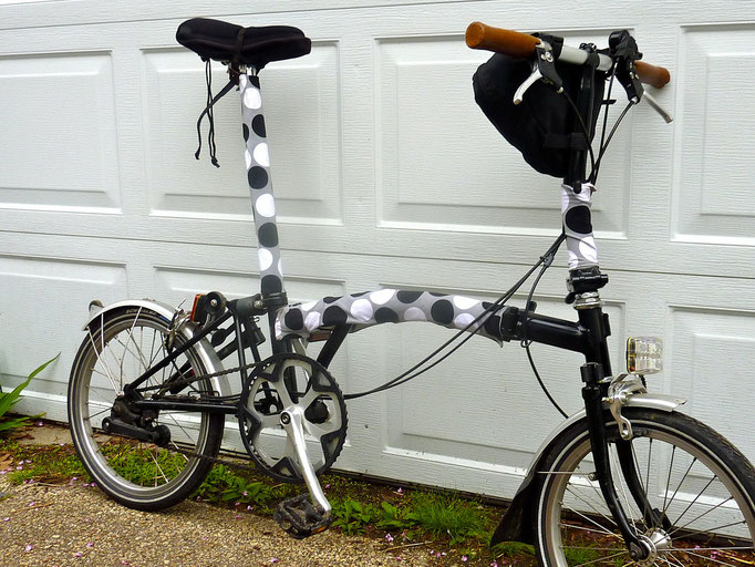 Brompton Folding Bikes wear BikeWrappers...