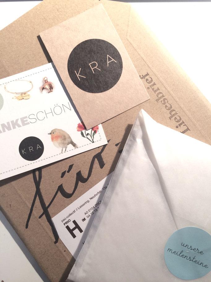 Kleinraumatelier Nachhaltige Versandverpackung