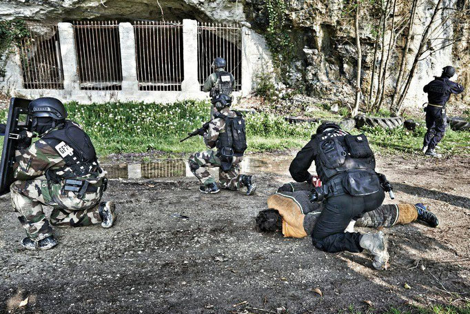 Formation SWAT de Tactical Systems chez Indra Academie