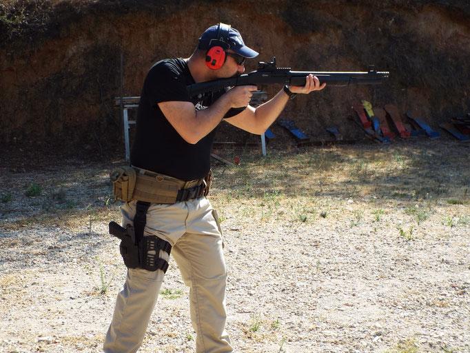 Drill shotgun