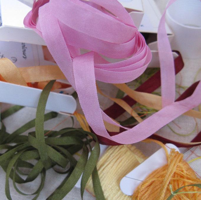 Seidenbänder und Twist