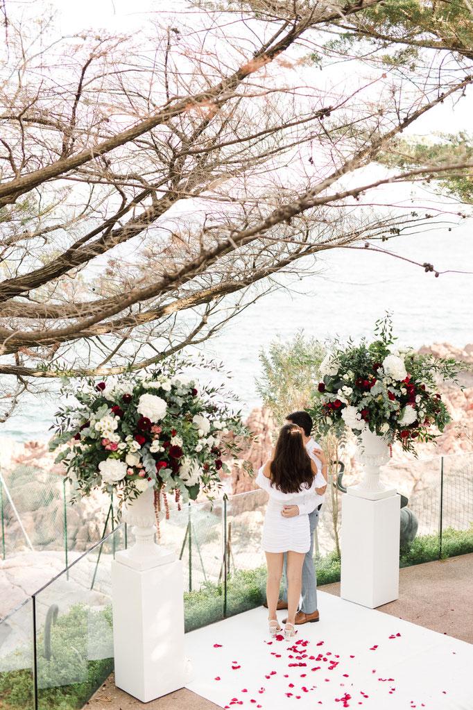 Demande en Mariage de Prestige sur la Côte d'Azur
