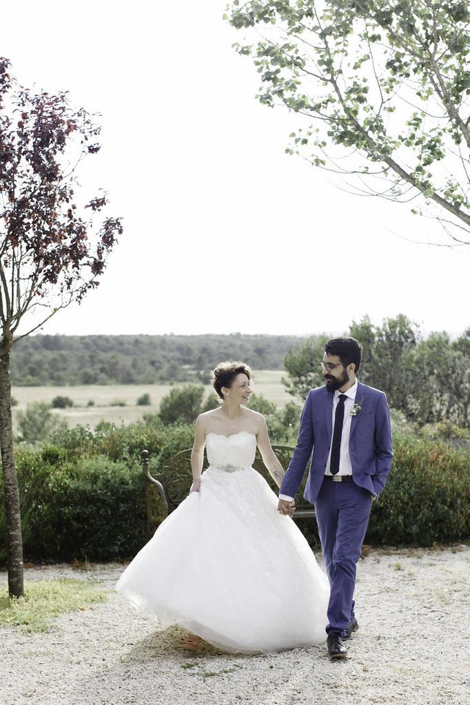 Mariage romantique chic Montpellier