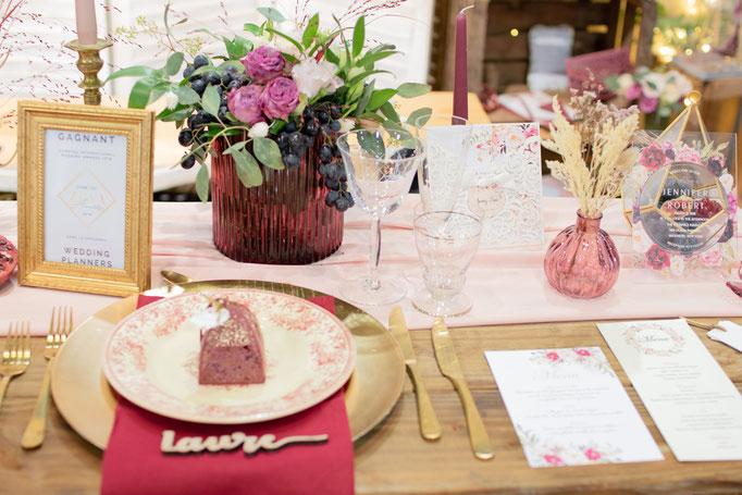 Décoration mariage champêtre vintage chic