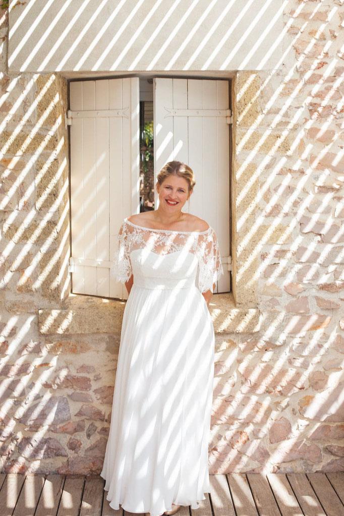 Ludivine Guillot créatrice de robe de mariée Lyon France