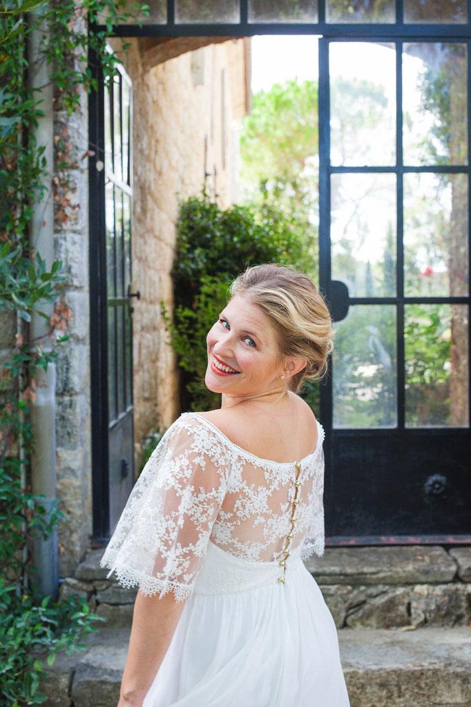 mariée bohème chic Ludivine Guillot créatrice robe de mariée Lyon