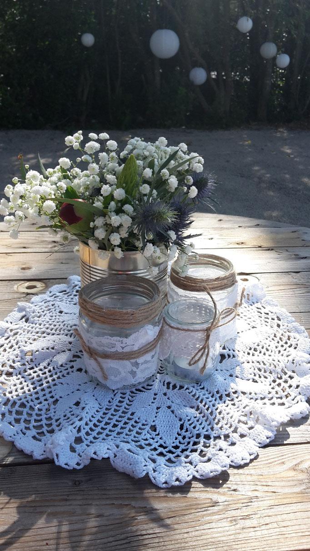 Fleurs champêtre mariage