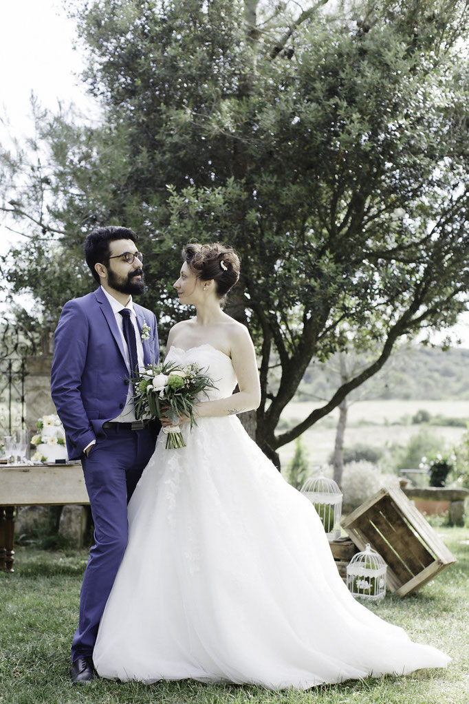 Organisation de mariage chic bohème Nîmes