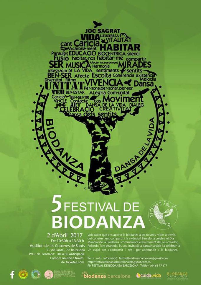 V Festival de Biodanza. 02 de abril de 2017.