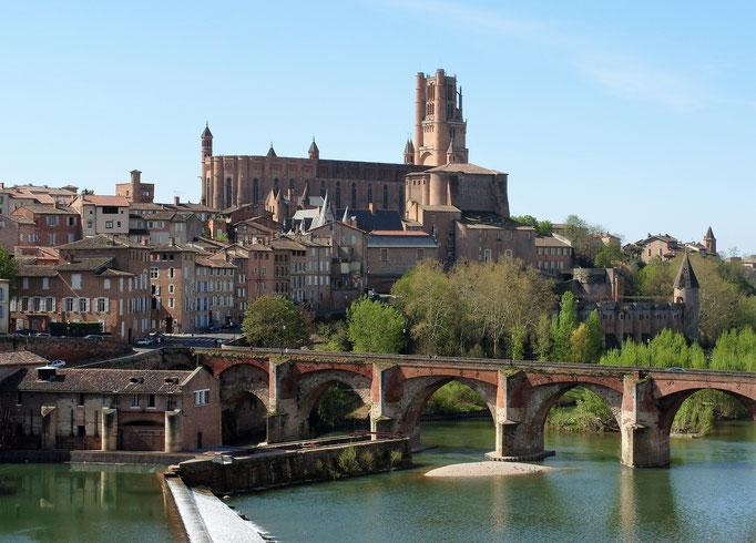 Cathédrale ste Cécile Classée au patrimoine UNESCO